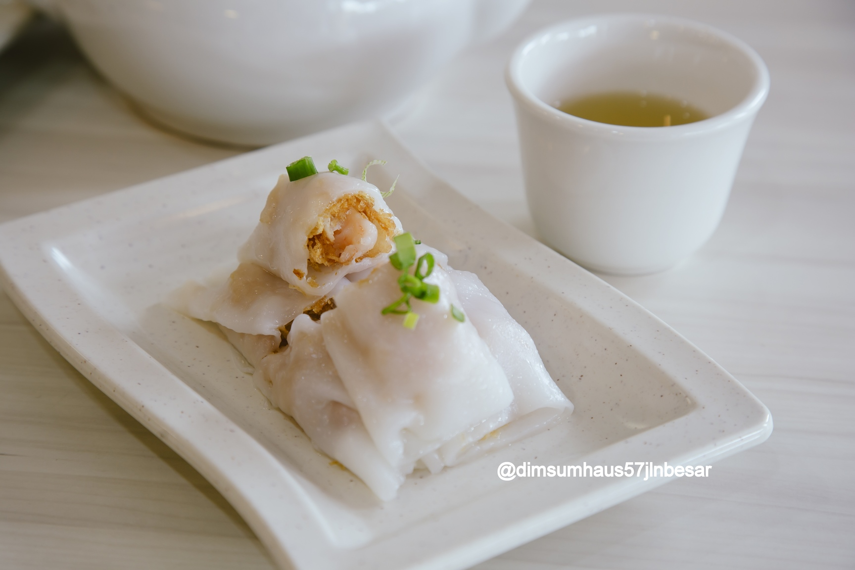 RR01 Steamed Crispy Rice Roll with Shrimp
